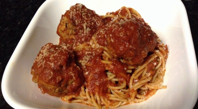 Healthy Spaghetti and Meatballs